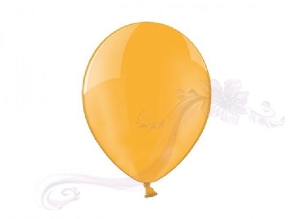 Paris Dekorace Svatební balonky 10 Crystal oranžové