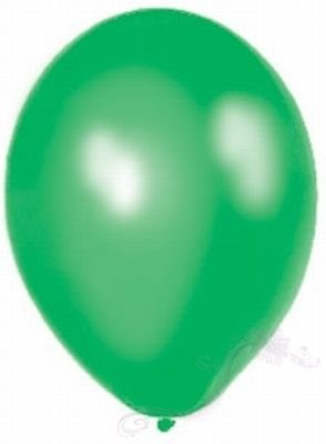 Paris Dekorace Balónky  Metalické  Lime Green
