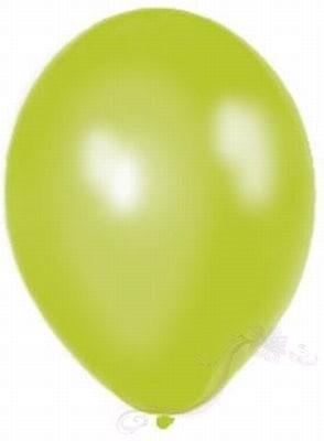 Paris Dekorace Balónky  Metalické  Apple Green