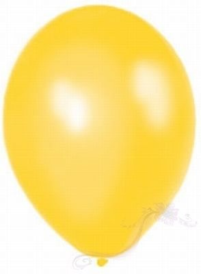 Paris Dekorace Balónky  Metalické  Citrus Yellow