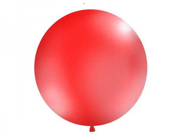 Paris Dekorace Vystřelovací balón červený