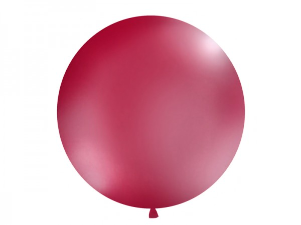 Paris Dekorace Vystřelovací balón  burgundy