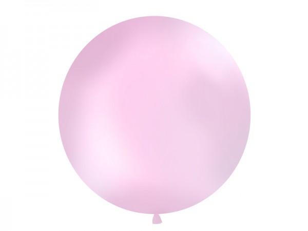 Paris Dekorace Vystřelovací balón růžový