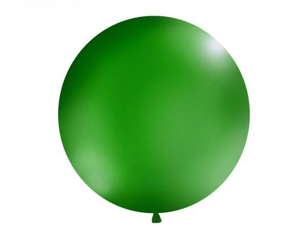 Paris Dekorace Vystřelovací balón tm. zelený