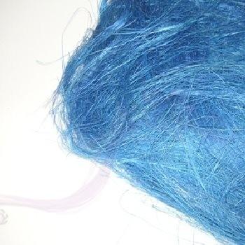 Paris Dekorace Barevné sisalové vlákno modré