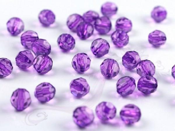 Paris Dekorace Krystalové korálky 10mm, lila
