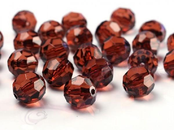 Paris Dekorace Krystalové korálky 10mm, hnědé