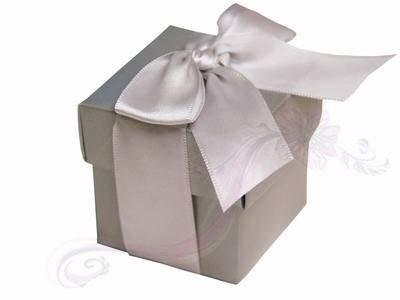 Paris Dekorace Krabička stříbrná