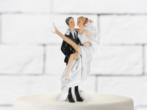 Paris Dekorace Svatební figurky nevěsta v náručí