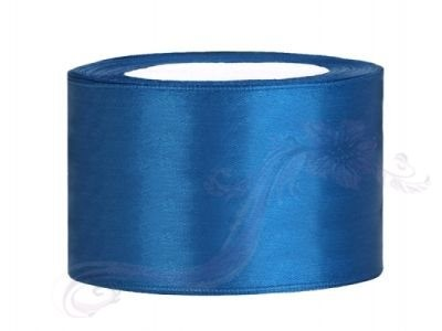 Paris Dekorace Saténová stuha  modrá, 38mm/25m