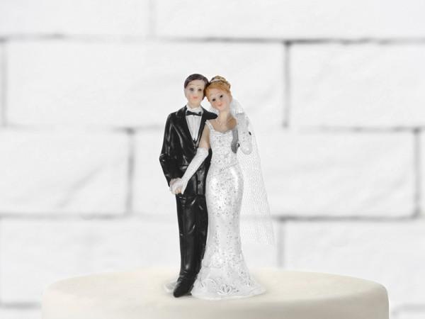 Paris Dekorace Svatební figurky Ženich a nevěsta H