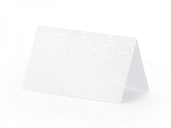 Paris Dekorace Svatební jmenovky  perl. vzor