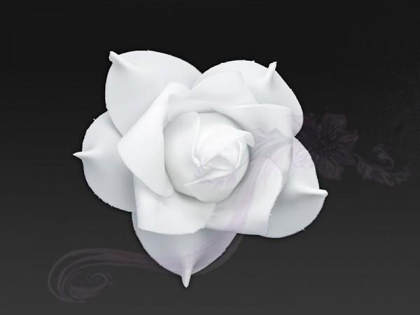 Paris Dekorace Květ decor, bílý, 11cm