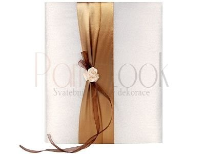 Paris Dekorace Svatební album s šampáňo kvítky