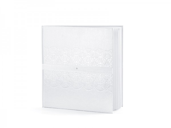 Paris Dekorace Svatební kniha - fotoalbum, 20*20cm