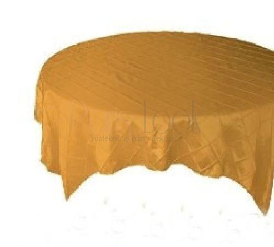 Paris Dekorace Saténový ubrus zlatý