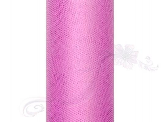Paris Dekorace Tyl v roli, růžový, 50cm/9m