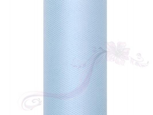 Paris Dekorace Tyl v roli, sv. modrý, 50cm/9m