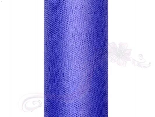 Paris Dekorace Tyl v roli, královská modrá, 50cm/9m