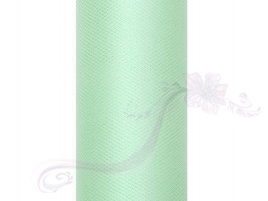 Paris Dekorace Tyl v roli, mentol, 50cm/9m
