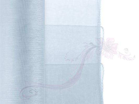 Paris Dekorace Organza obšitá sv. modrá, 38cm/9m