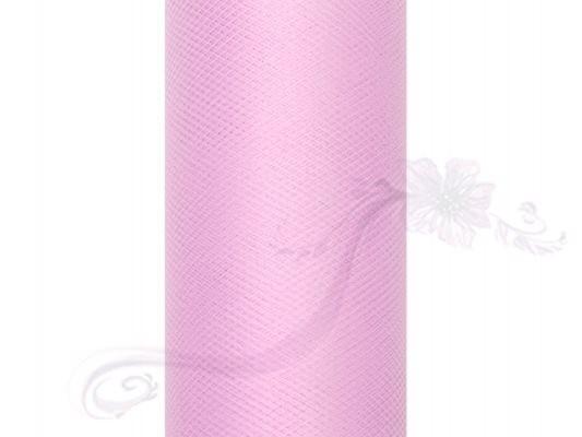 Paris Dekorace Tyl v roli, sv.růžový, 50cm/9m