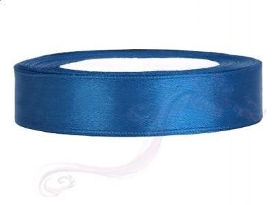 Paris Dekorace Saténová stuha  modrá, 12mm/25m