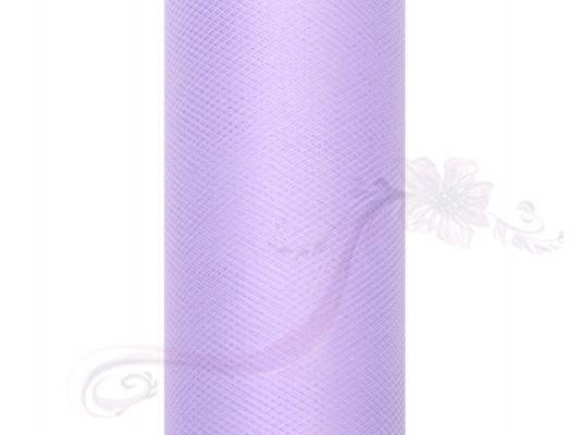 Paris Dekorace Tyl v roli, lila, 30cm/9m