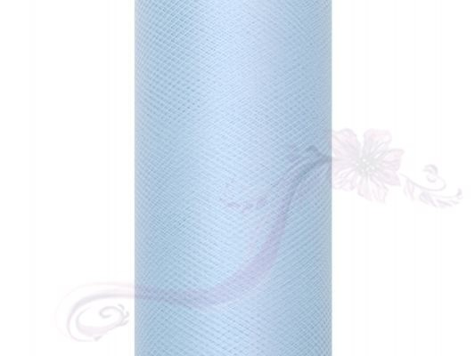 Paris Dekorace Tyl v roli, sv. modrý 30cm/9m