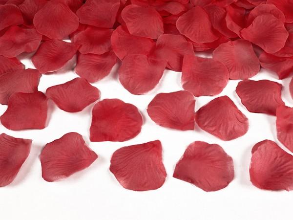 Paris Dekorace Plátky růží, červené