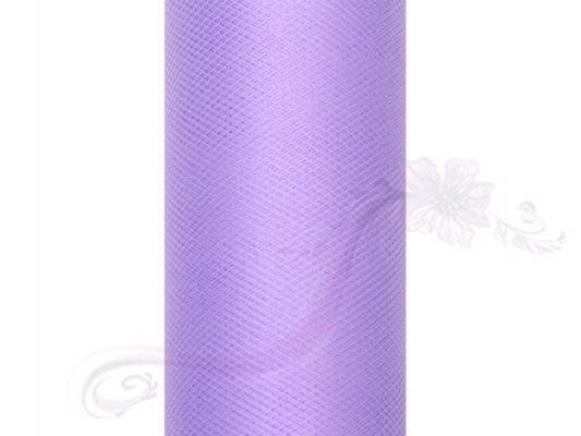 Paris Dekorace Tyl v roli, fialový 30cm/9m