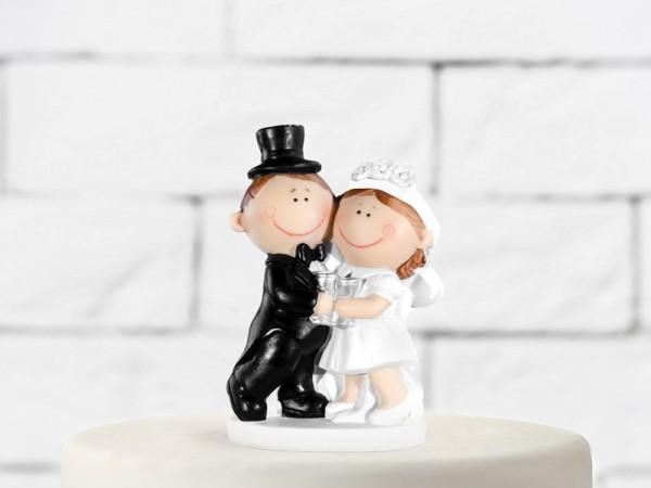 Paris Dekorace Figurka novomanželé baculky  10,5cm