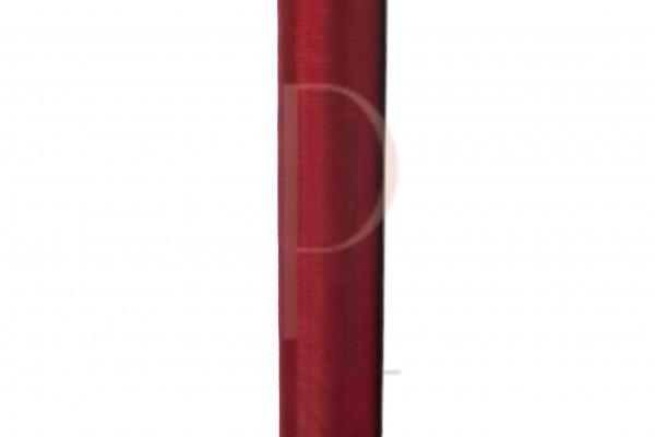 Paris Dekorace Organza hladká bordo, 16cm/9m