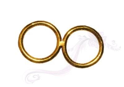 Paris Dekorace Snubní prsteny střední
