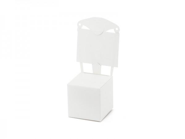 Paris Dekorace Krabička křesílko bílé