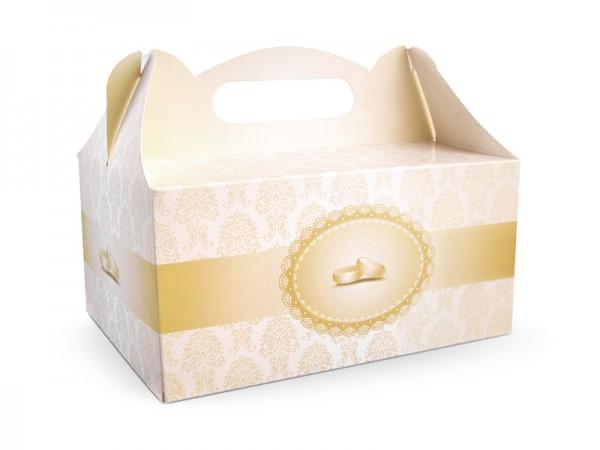 Paris Dekorace Ozdobná krabička na výslužku GOLDIE