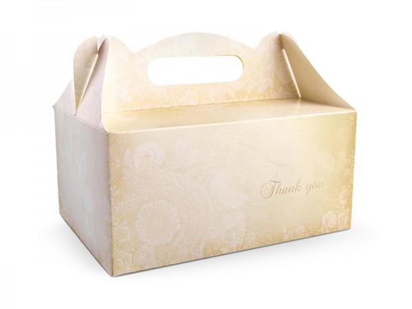 Paris Dekorace Ozdobná krabička na výslužku