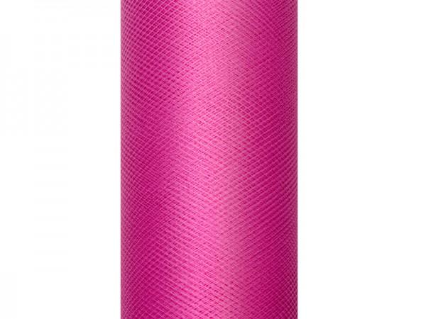 Paris Dekorace Tyl v roli, fuchsia 30cm/9m