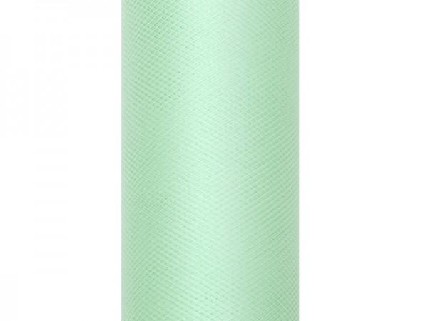 Paris Dekorace Tyl v roli, mentol, 30cm/9m
