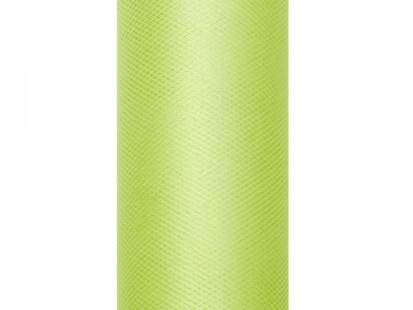 Paris Dekorace Tyl v roli, sv. zelený, 30cm/9m