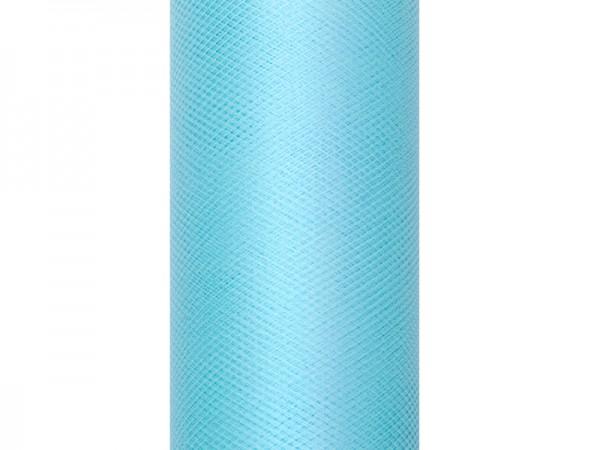 Paris Dekorace Tyl v roli, sv. tyrkys 50cm/9m
