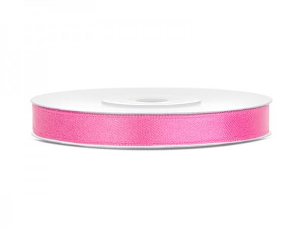 Paris Dekorace Saténová stuha růžová, 6mm/25m