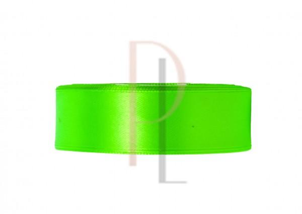 Paris Dekorace Saténová stuha zelená, 12mm/25m