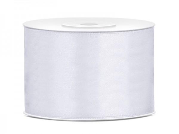 Paris Dekorace Saténová stuha bílá 50mm/25m