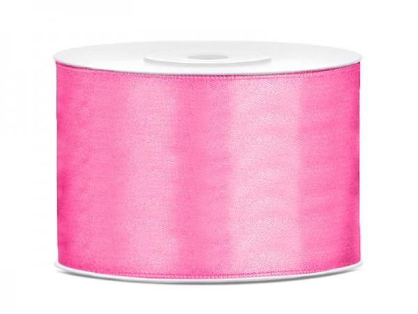 Paris Dekorace Saténová stuha růžová, 50mm/25m
