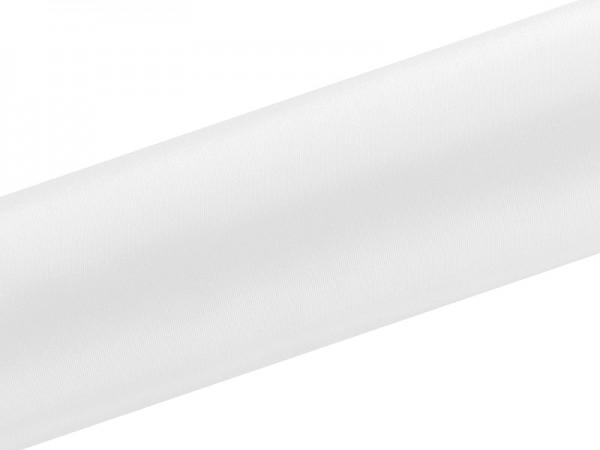 Paris Dekorace Satén v roli bílý, šířka 16 cm, návin 9 m