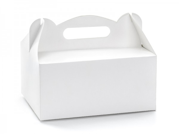 Paris Dekorace Krabička na výslužku bílá, 10 ks