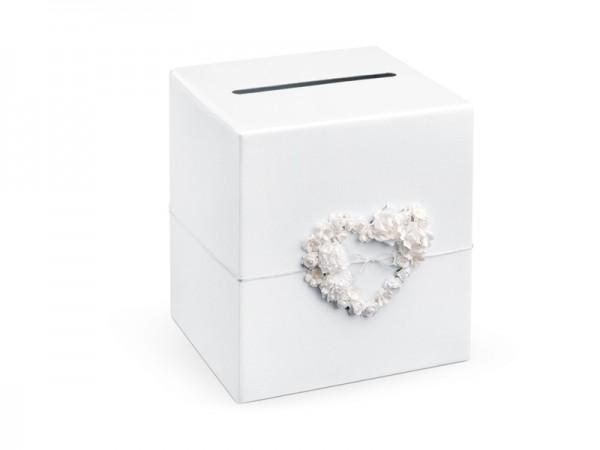 Paris Dekorace Svatební box na přání Heart