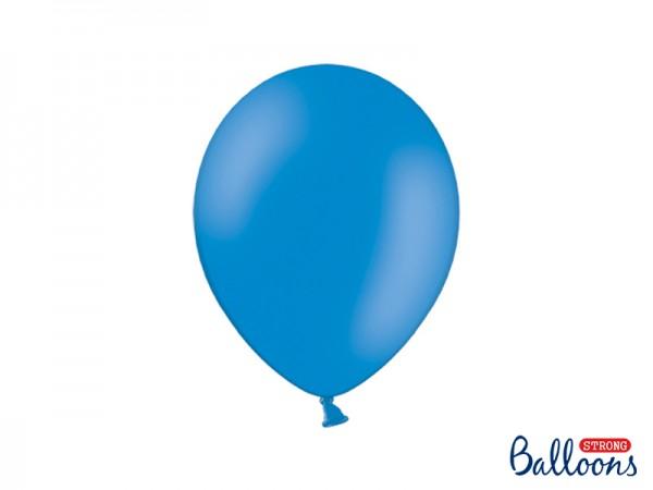 Paris Dekorace Balónky pastelové tmavě modré, 27 cm