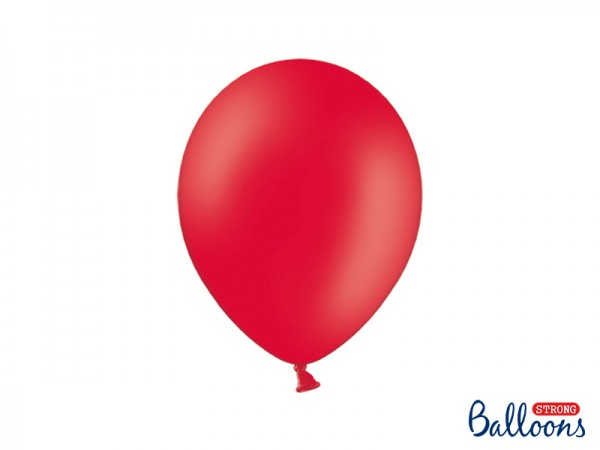 Paris Dekorace Balónky pastelové červené, 27 cm